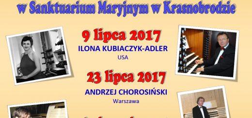 Koncerty organowe 2017