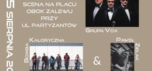 plakat koncert plenerowy Per Artem 2017