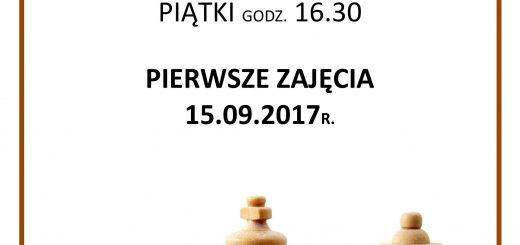 plakat A3 zajęcia szachowe