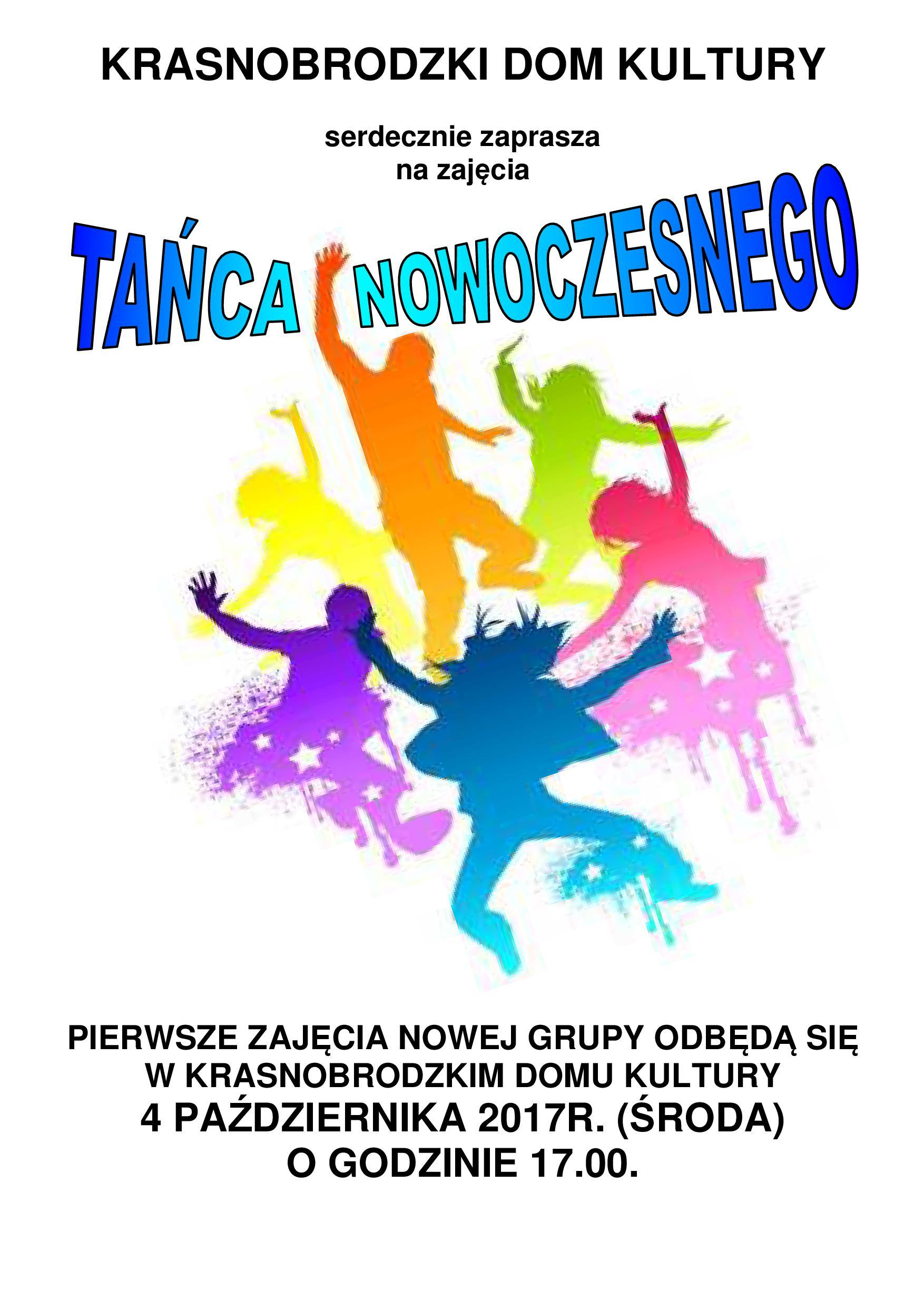 zajęcia taneczne nowa grupa