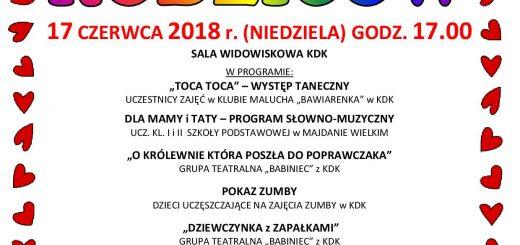 2018 Koncert dla Rodzicow plakat A4