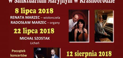 2. Koncerty organowe 2018 plakat A2