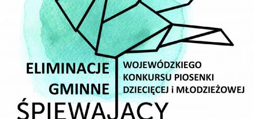 Słowik gminny 2019 plakat A4