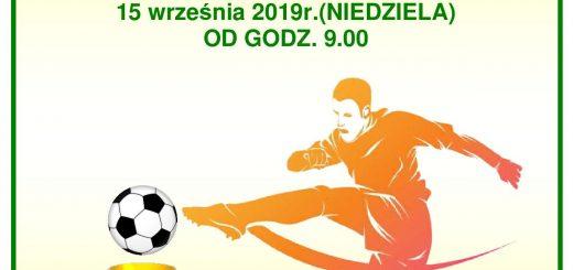 Plakat piłka nożna 2019