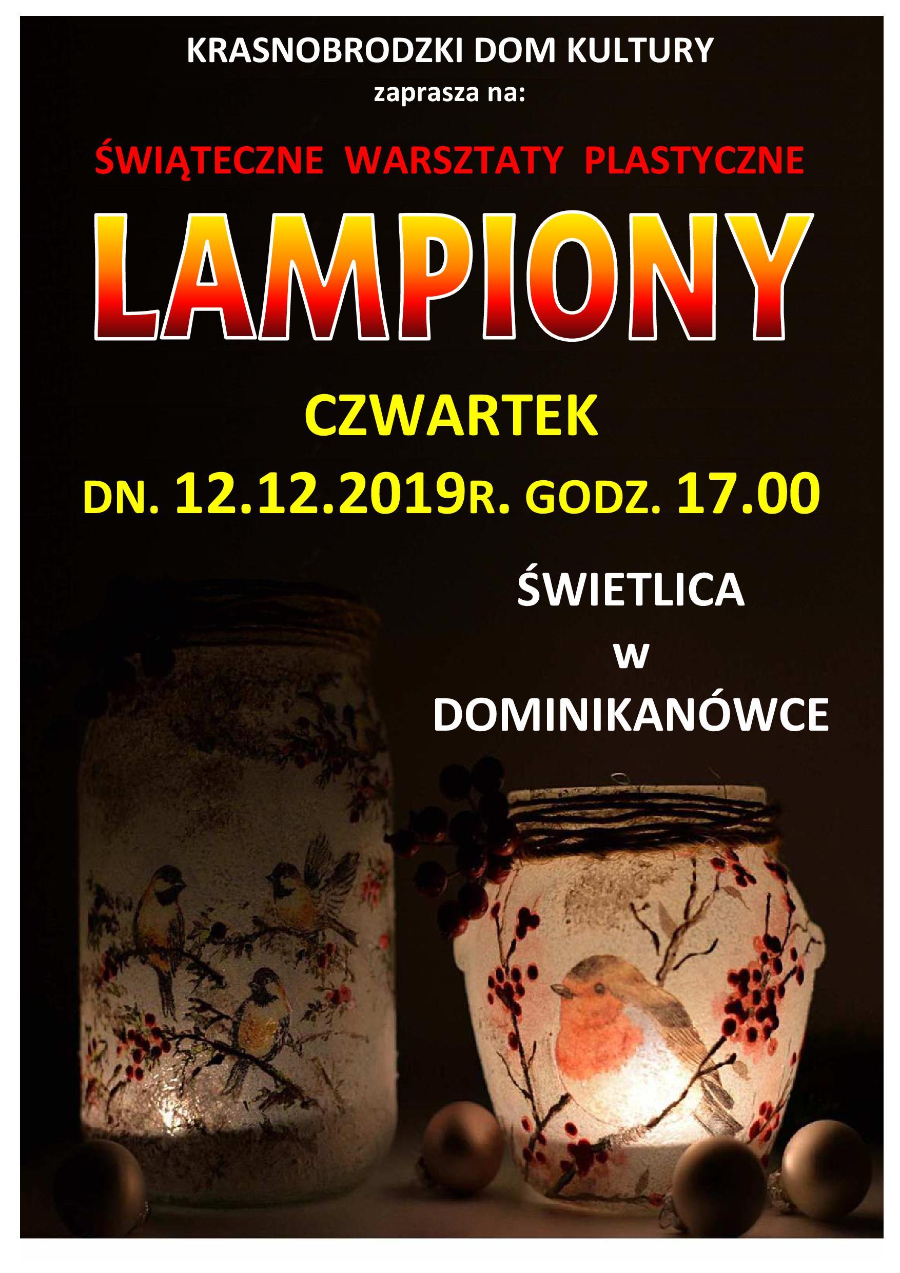 Lampiony plakat A3